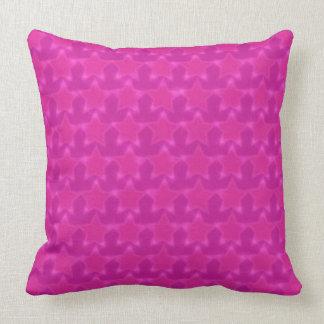 Pink Stars Pillow