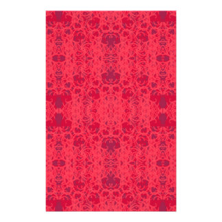 pink stationery paper
