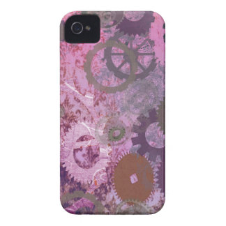 Pink Steampunk Case-Mate iPhone 4 Cases
