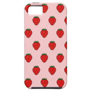 Pink Strawberry iPhone 5 Case