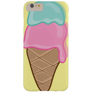 Pink Strawberry Mint Retro Summer Ice Cream Casing Barely There iPhone 6 Plus Case