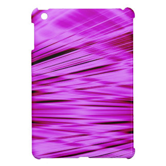 Pink streaked lines pattern cover for the iPad mini
