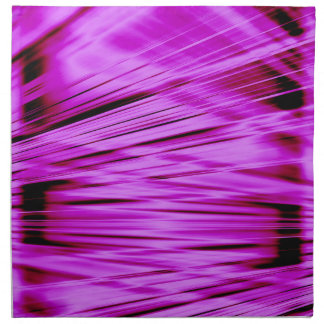Pink streaked lines pattern napkin
