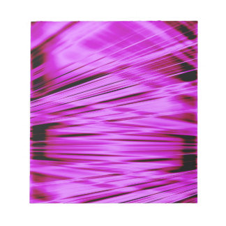 Pink streaked lines pattern notepad