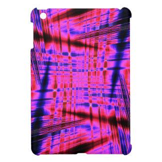 Pink streaked pattern iPad mini covers