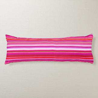 Pink Stripe Body Pillow