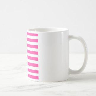 Pink Stripe Coffee Mug