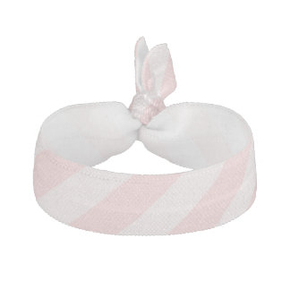 Pink Striped Hair Tie