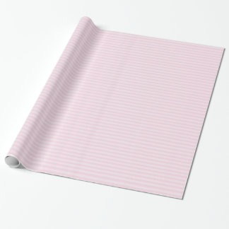 Pink Striped Wrapping Paper