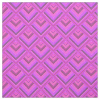 Pink stripes scale pattern fabric