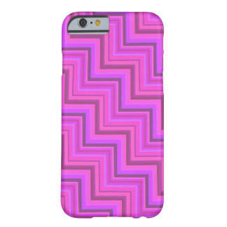 Pink stripes stairs pattern barely there iPhone 6 case