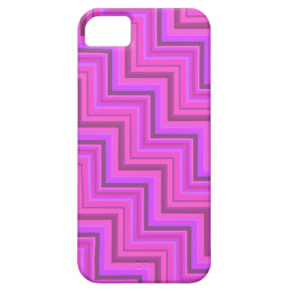Pink stripes stairs pattern case for the iPhone 5