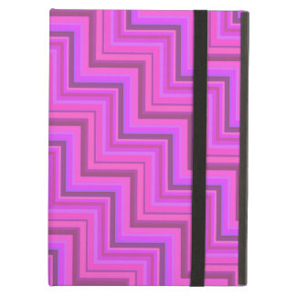 Pink stripes stairs pattern cover for iPad air