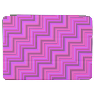 Pink stripes stairs pattern iPad air cover