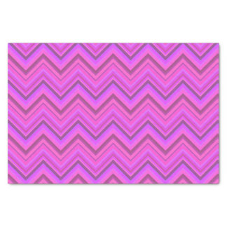 Pink stripes zigzag pattern tissue paper