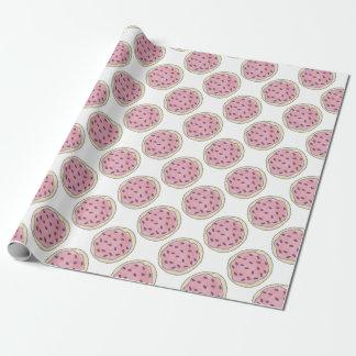 Pink Sugar Cookie w/ Sprinkles Foodie Gift Wrap