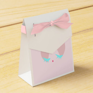 Pink Sugary Kiss Favor Boxes