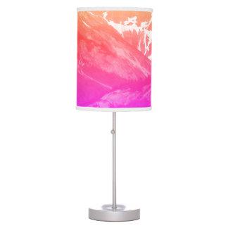 Pink Summer Mountains Lamp