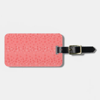 Pink Summer Rain Lovers Luggage Tag