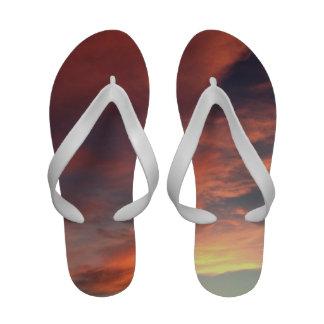 Pink Summer Sky Sandals