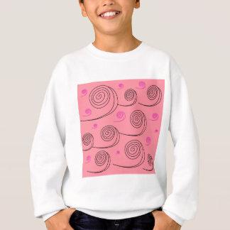 Pink summer spirals Art Collection 2017 Sweatshirt
