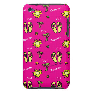 Pink Summer Sun and Fun iPod Touch Case