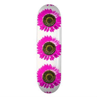 Pink Sunflower Skate Boards