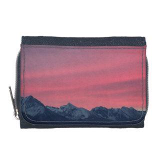 Pink sunrise wallets