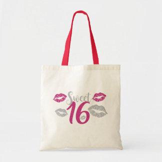 PINK Sweet 16 Tote Bags