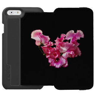 Pink Sweet Pea Heart Incipio Watson™ iPhone 6 Wallet Case