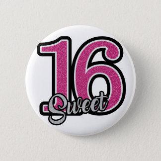 Pink Sweet Sixteen 2 Inch Round Button