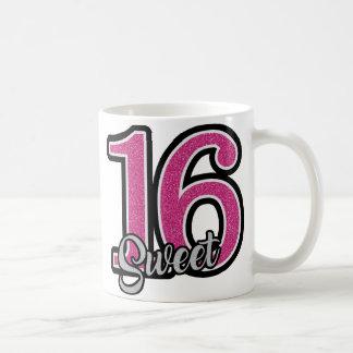 Pink Sweet Sixteen Coffee Mug