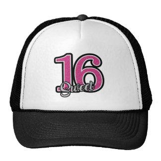 Pink Sweet Sixteen Trucker Hat