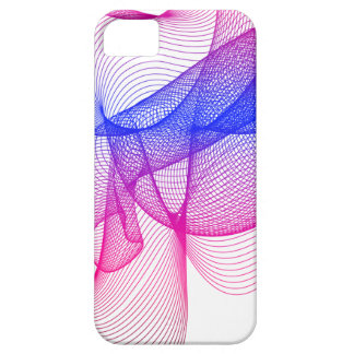 Pink Swirl, Digital Art iPhone 5 Case