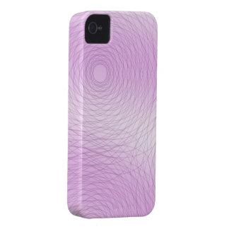 Pink Swirls BlackBerry Case
