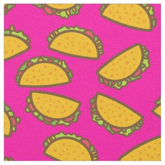 pink tacos fabric