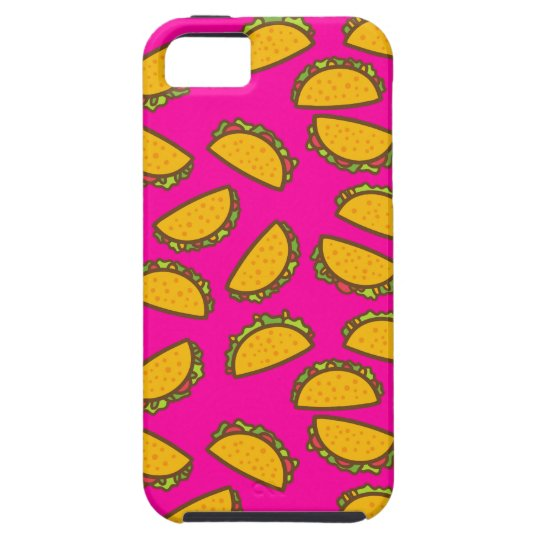 pink tacos iPhone 5 case