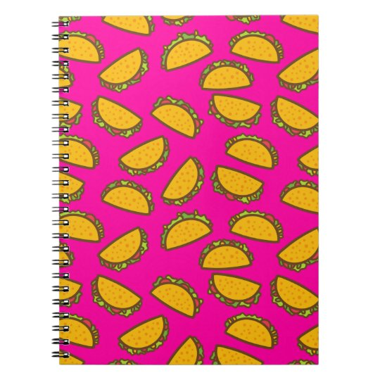pink tacos notebooks
