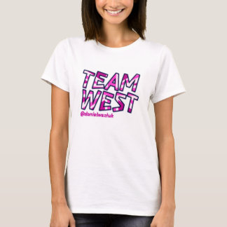 PINK TEAM WEST T-Shirt
