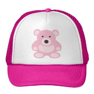 Pink Teddy Bear Trucker Hat