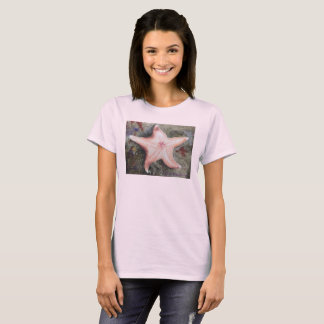 Pink Tee shirt with Star fish
