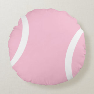 Pink Tennis Ball ~ Perfect Round Pillow