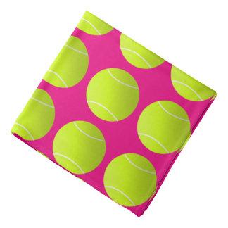 Pink Tennis Bandana