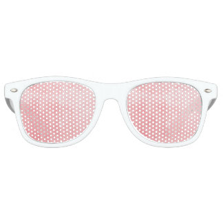 Pink Textured Retro Sunglasses