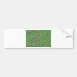Pink & The Green Bumper Sticker