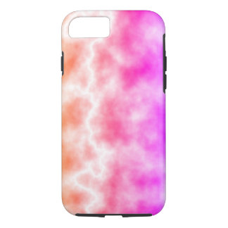 Pink Thunder Storm Sky iPhone 7 Case