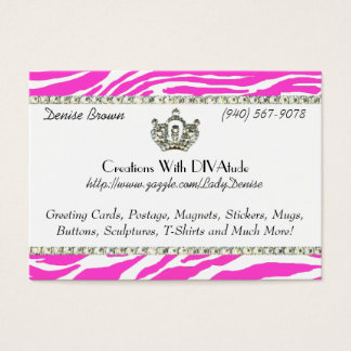 Pink Tiara Gone Wild / Chubby profile cards