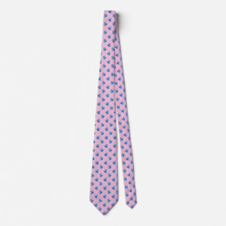 Pink Ties For Men Blue Tree Frogs