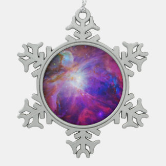 Pink Tinted Orion Nebula Ornaments