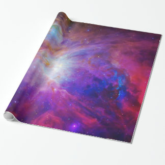 Pink Tinted Orion Nebula Wrapping Paper